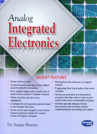 Analog Integrated Electronics