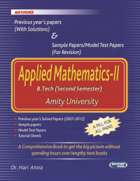 Applied Mathematics-II (Previous Year Papers)