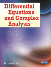 Differential Equations and Complex Analysis