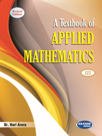 A Textbook of Applied Mathematics-III