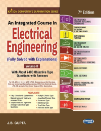An Integrated Course in Electrical Engineering Volume-II (7th Revised Edition)