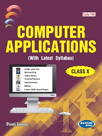 Computer Applications (Class X) (Code 165)